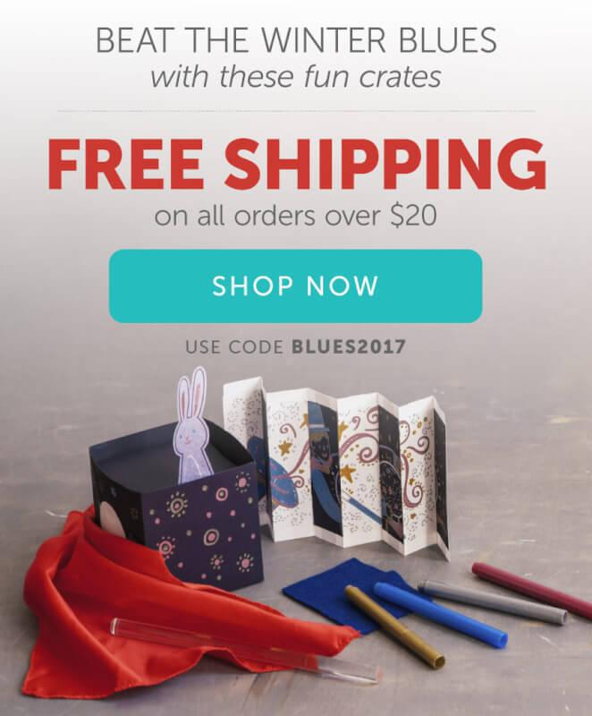 Kiwi Crate – Free Shipping on Shop Purchases of $20+!