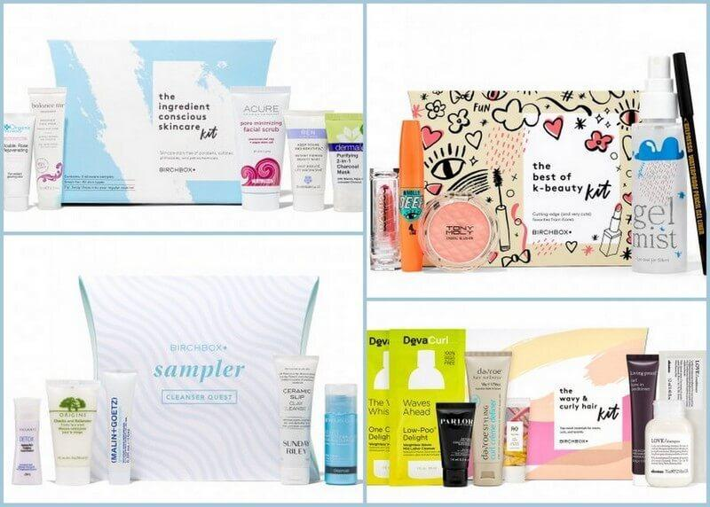 Birchbox Coupon Code – Free Kits with $50+ Purchase