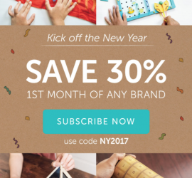 Kiwi Crate 30% Off First Month!