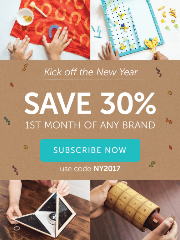 Kiwi Crate 30% Off First Month (Last Call)!