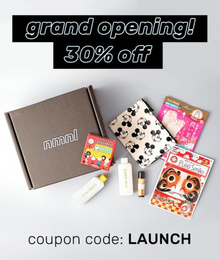 nmnl (Tokyo Treat Beauty Box) On Sale Now!