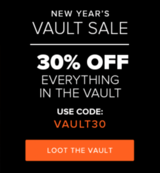 Loot Crate Loot Vault Sale – 30% off Everything!