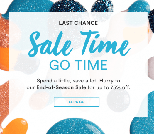 Julep End-of-Season Sale + Free Gift With Purchase (Last Call)!