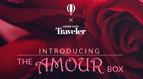 Try The World x Conde Nast Traveler Limited Edition The Amour Box (On Sale Now)