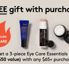 Birchbox Man - Free Eye Care Essentials Kit with $65+ Purchase