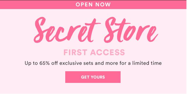 Julep Secret Store Now Open – February 2017