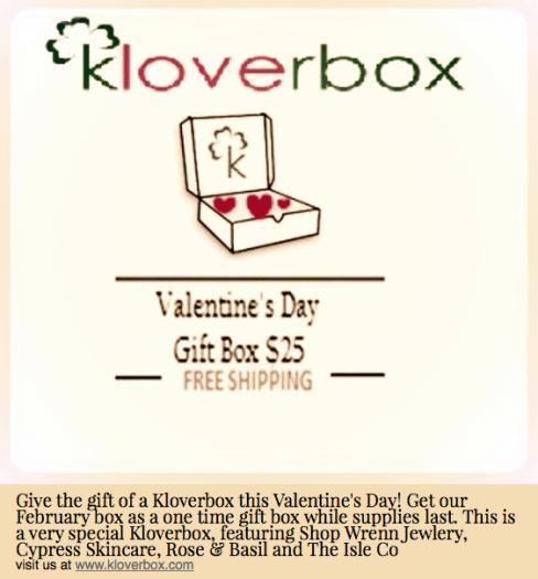 Kloverbox Valentine's Day Gift Box
