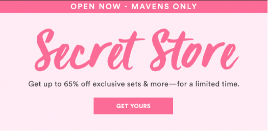 Julep Secret Store