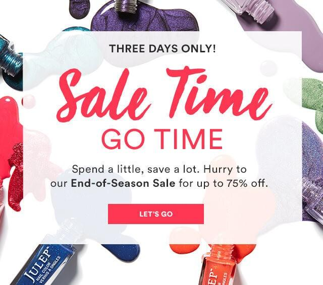 Julep End-of-Season Sale + Free Gift With Purchase!