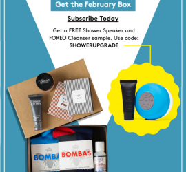 Birchbox Man Coupon Code: Free Shower Speaker + Cleanser with Subscription!