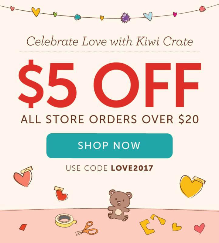 Kiwi Crate Shop Coupon Code – Save $5 (Last Call)