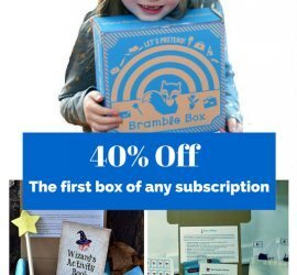 Bramble Box Coupon Code - Save 40% Off Your First Box!