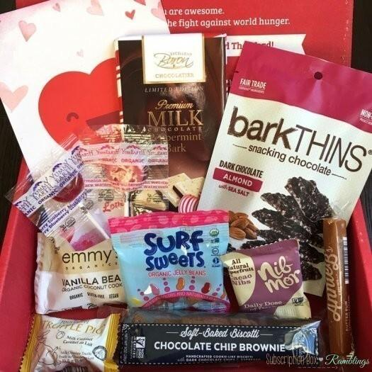 Love With Food Be Mine Mystery Box Review + Valentine's Day Sale