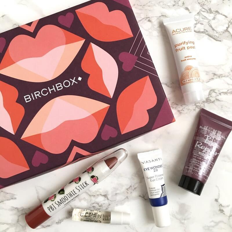 """Birchbox Review February 2017 """"Lip Love"""" Curated Box + Coupon Code"""
