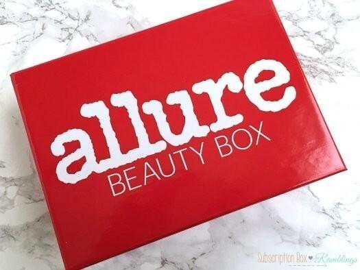 Allure Beauty Box Review - February 2017