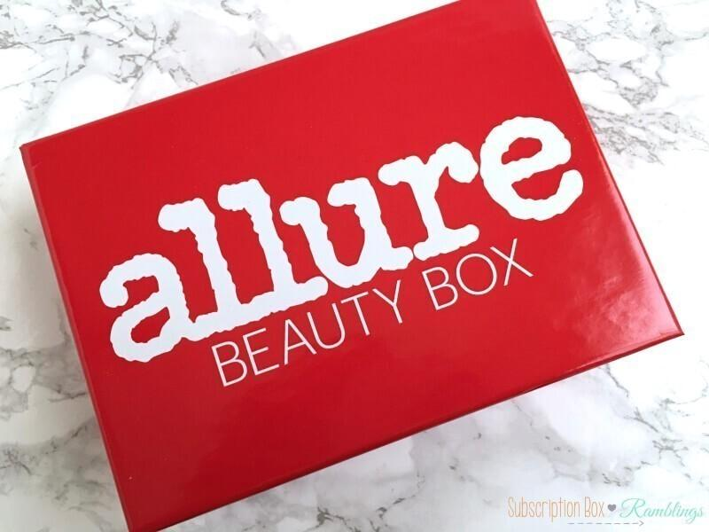Allure Beauty Box Giveaway (CLOSED)