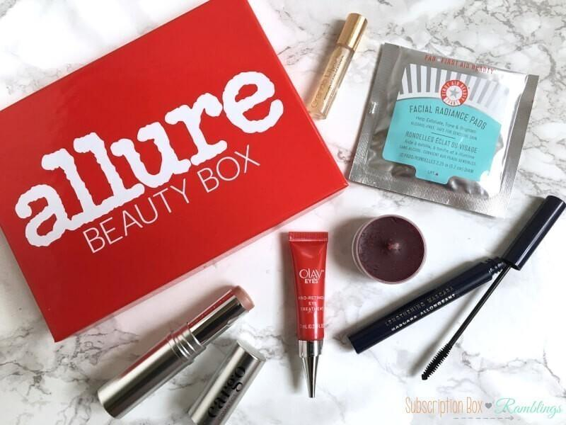Allure Beauty Box Review – February 2017