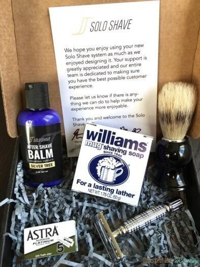Solo Shave Review – February 2017