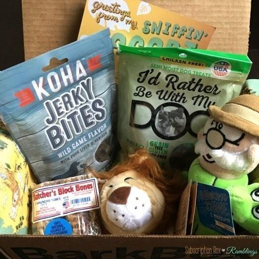 BarkBox Review + Coupon Code – February 2017