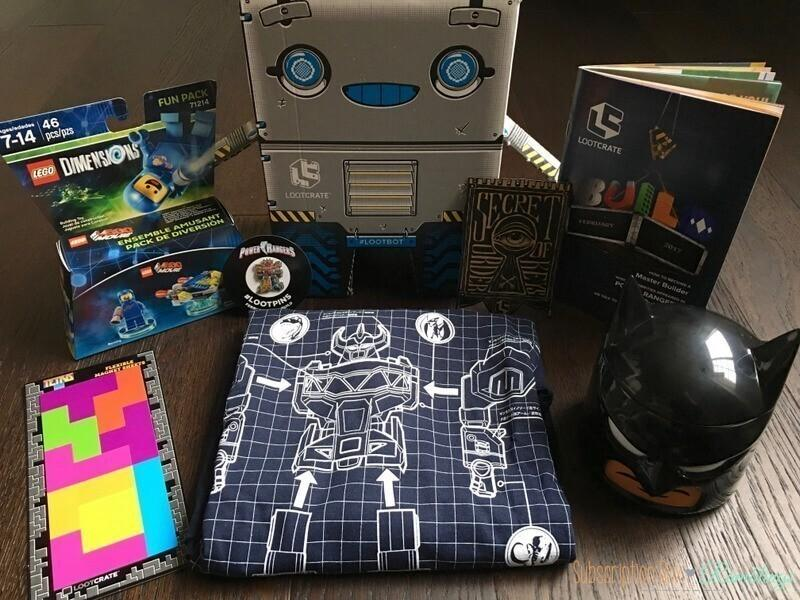 Loot Crate Review + Coupon Code – February 2017