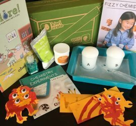 Kiwi Crate Review + Coupon Code - February 2017