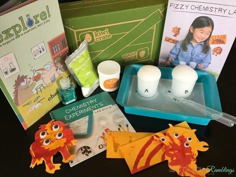 Kiwi Crate Review + Coupon Code – February 2017