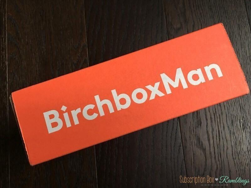 Birchbox Man Sample Choice Spoilers – April 2017