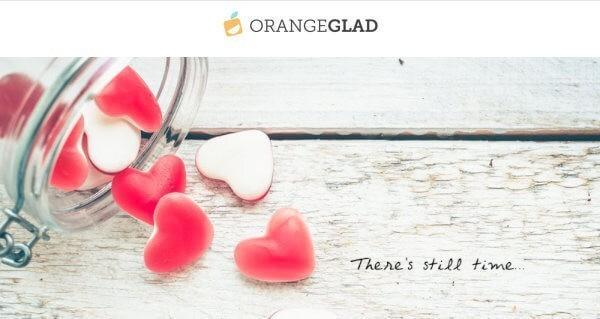 Orange Glad Coupon Code – 20% Off + Valentine's Day Delivery