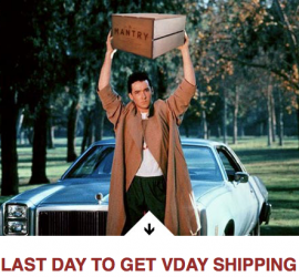 Mantry - Last Call for Valentine's Day Shipping