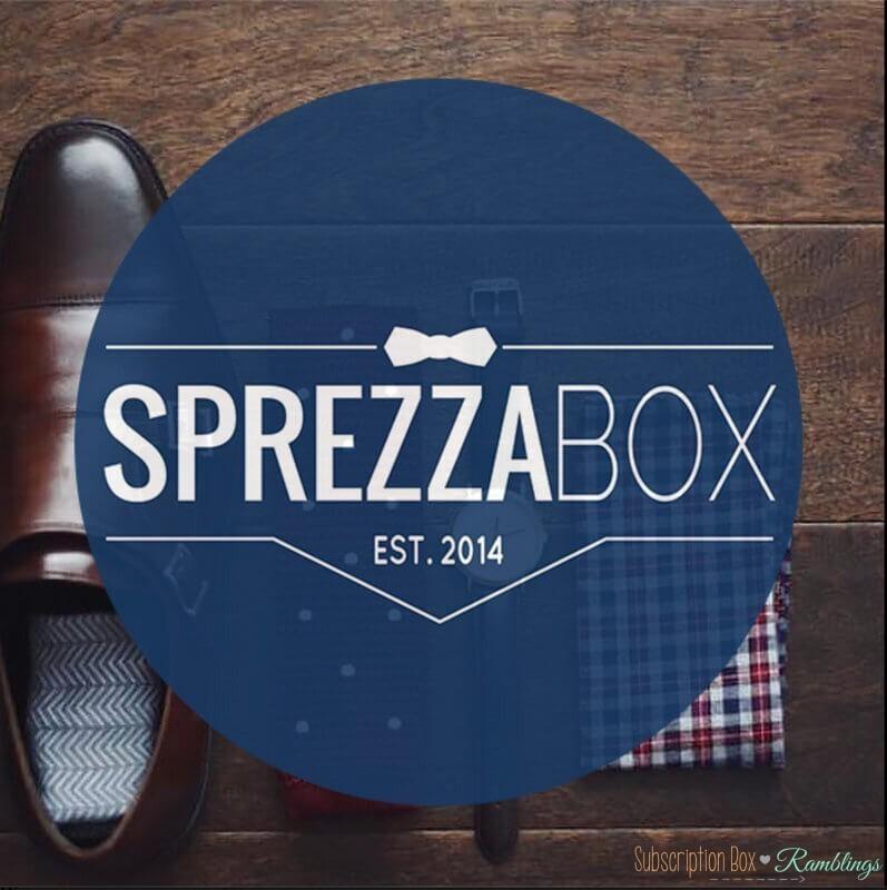 SprezzaBox February 2017 Spoiler!