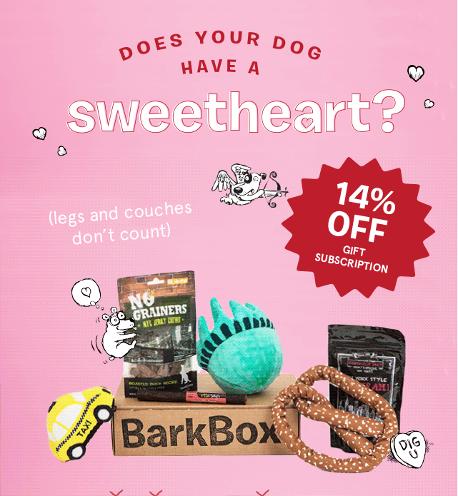BarkBox Coupon Code - 14% Off Gift Subscriptions - Subscription ...