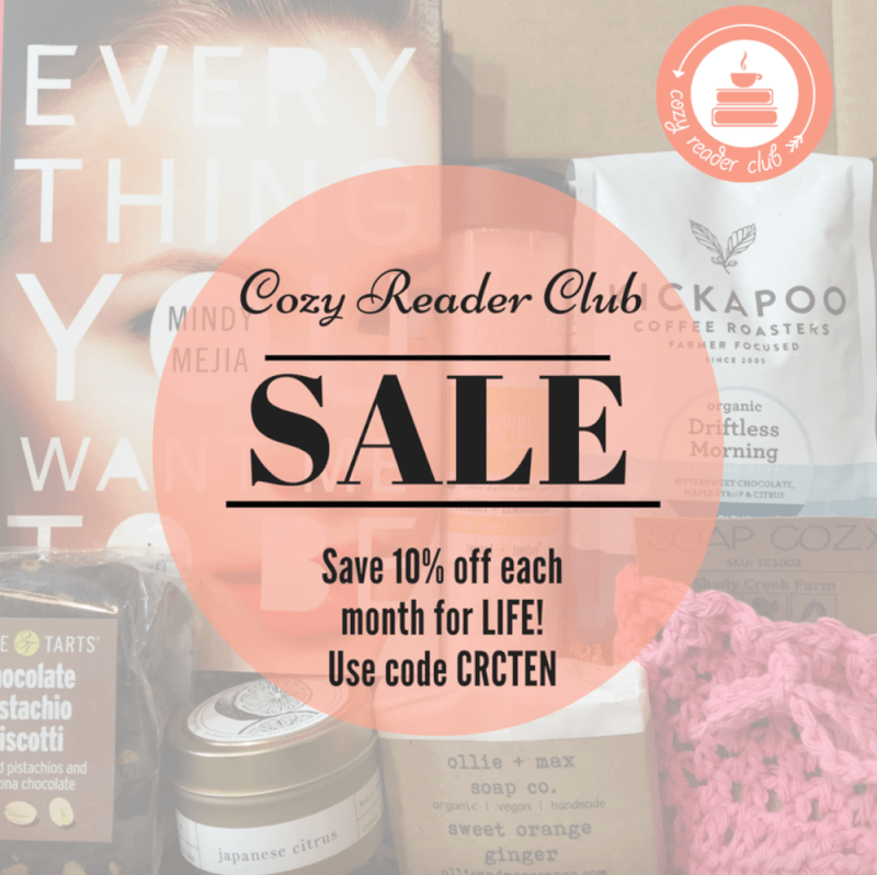 Cozy Reader Club Coupon Code – 10% Off for Life!