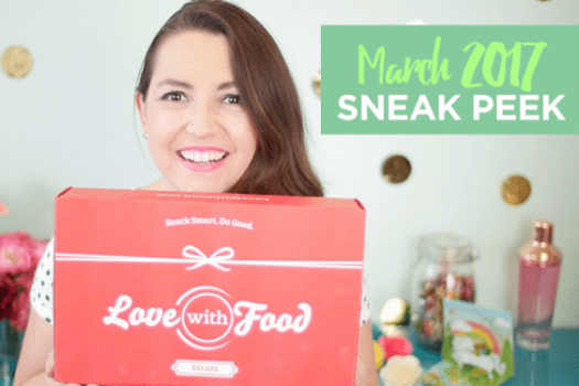 Love With Food March 2017 Spoilers + Coupon Code