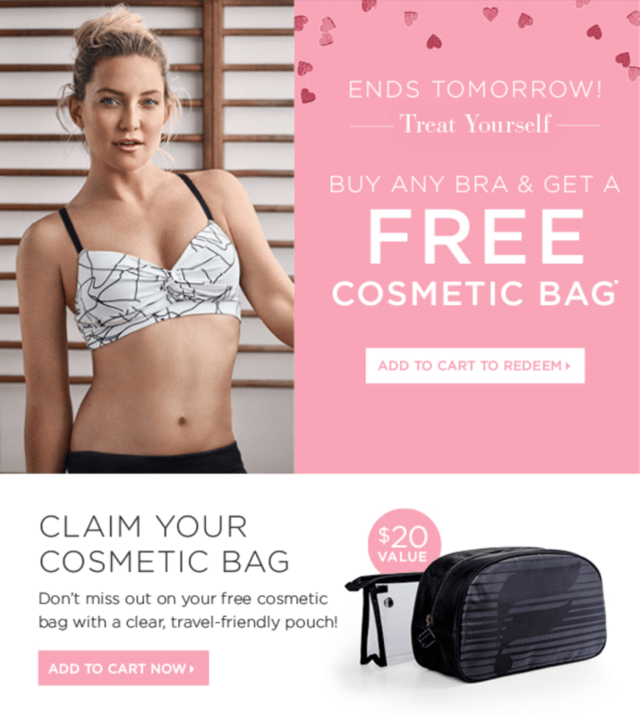 Fabletics – Free Gift with Bra Purchase