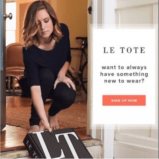 Le Tote Coupon – $15 Off Your First Month!
