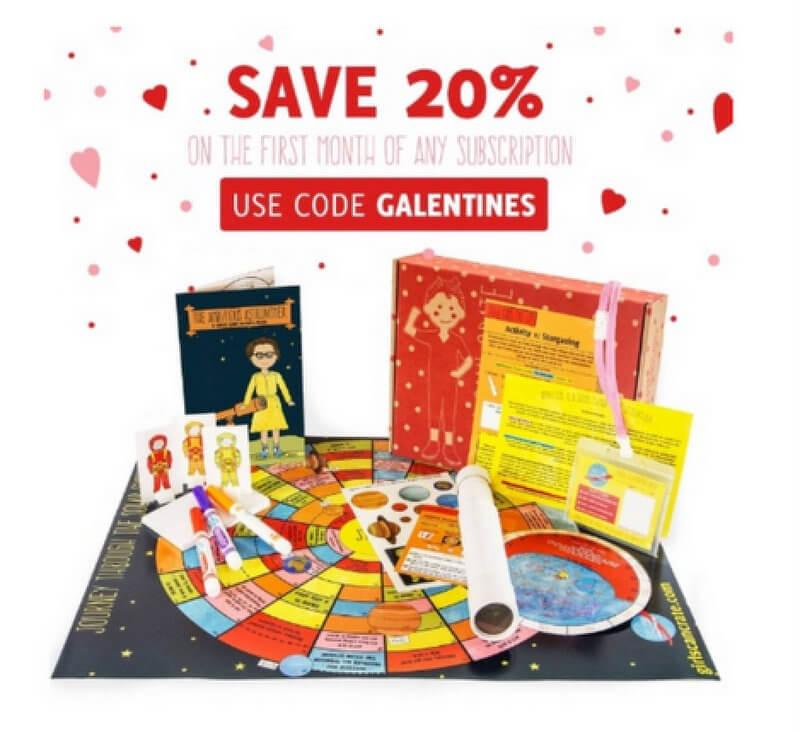 GIRLS! CAN CRATE Valentine's Day Sale – Save 20%!