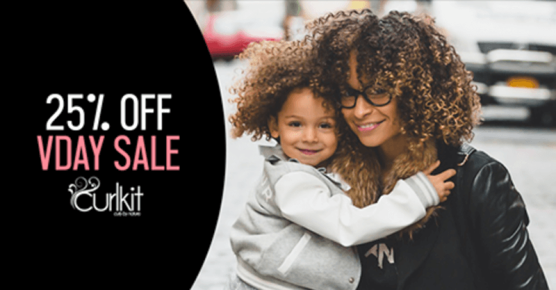 CurlKit Valentine's Day Sale – Save 25% Off All Subscriptions