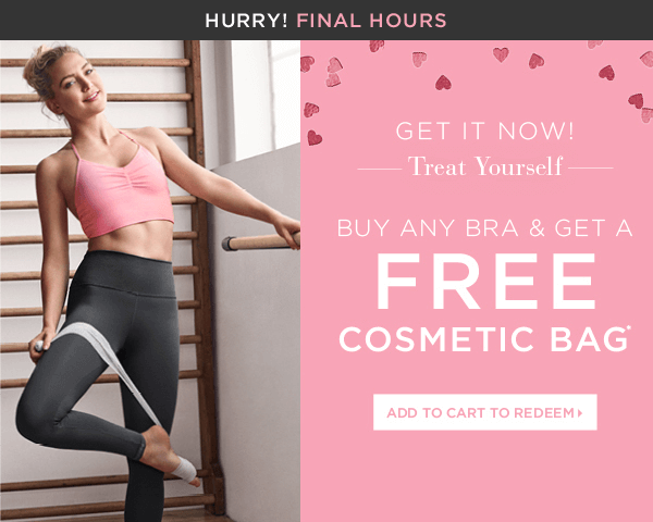 Fabletics – Free Gift with Bra Purchase (Last Chance)