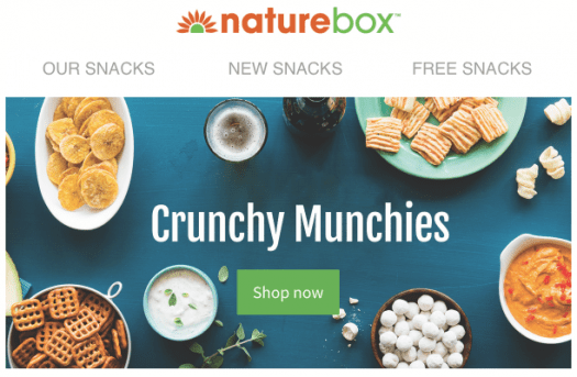 NatureBox Coupon Code – 50% Off First Order!
