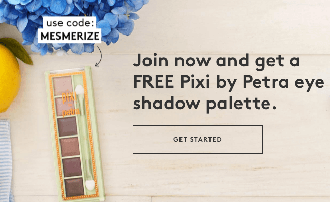 Birchbox Coupon Code – Free Pixi by Petra Palette with a New Subscription