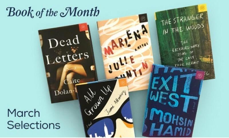 Book of the Month March 2017 Last Call + Coupon Code
