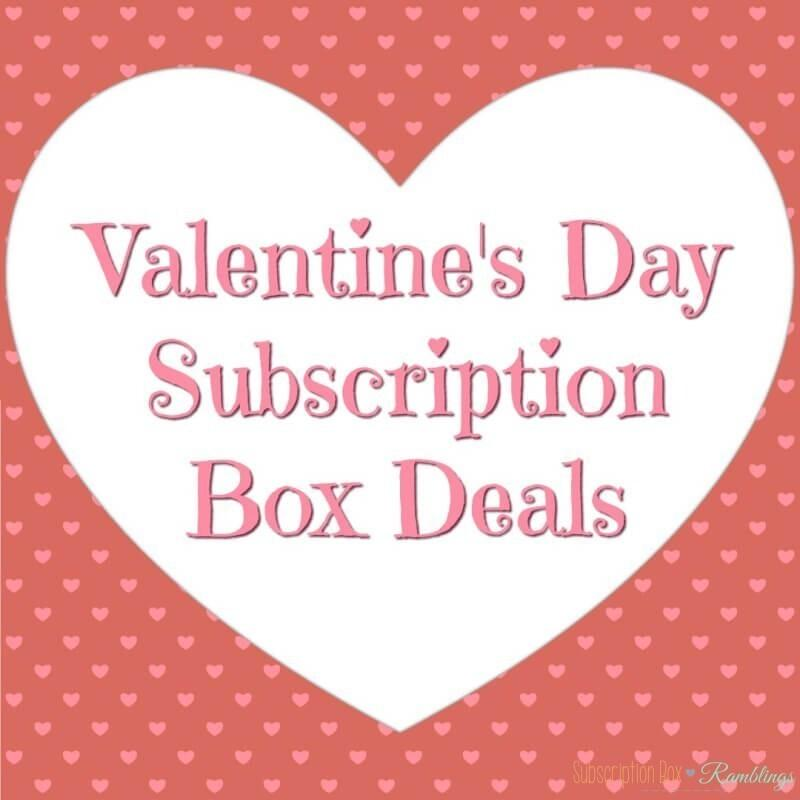 ValentineS Day Coupon Code RoundUp  Subscription Box Ramblings