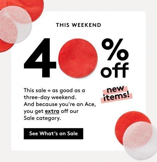 Birchbox Additional 40% Off Select Items