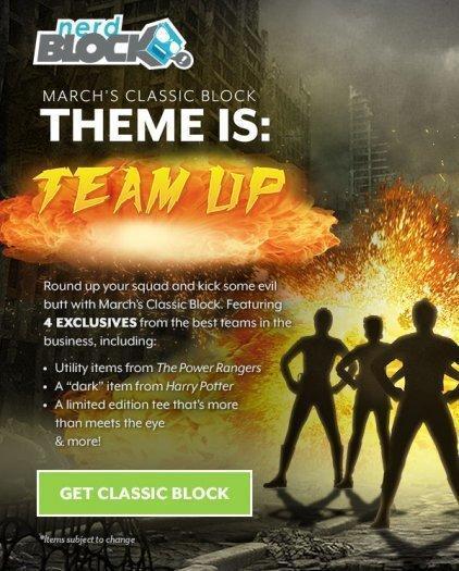 Nerd Block Classic – March 2017 Theme Reveal / Spoilers