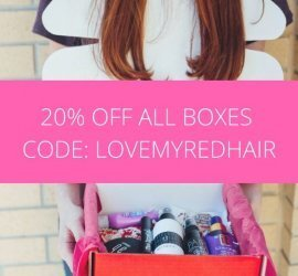 How to be a Redhead Box Coupon Code - 20% Off All Subscriptions