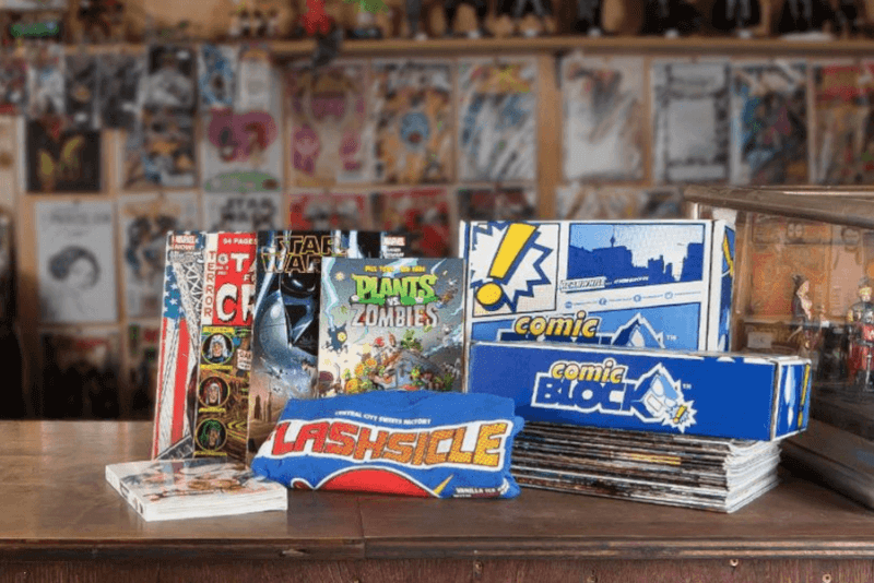 Comic Block March 2017 Spoilers