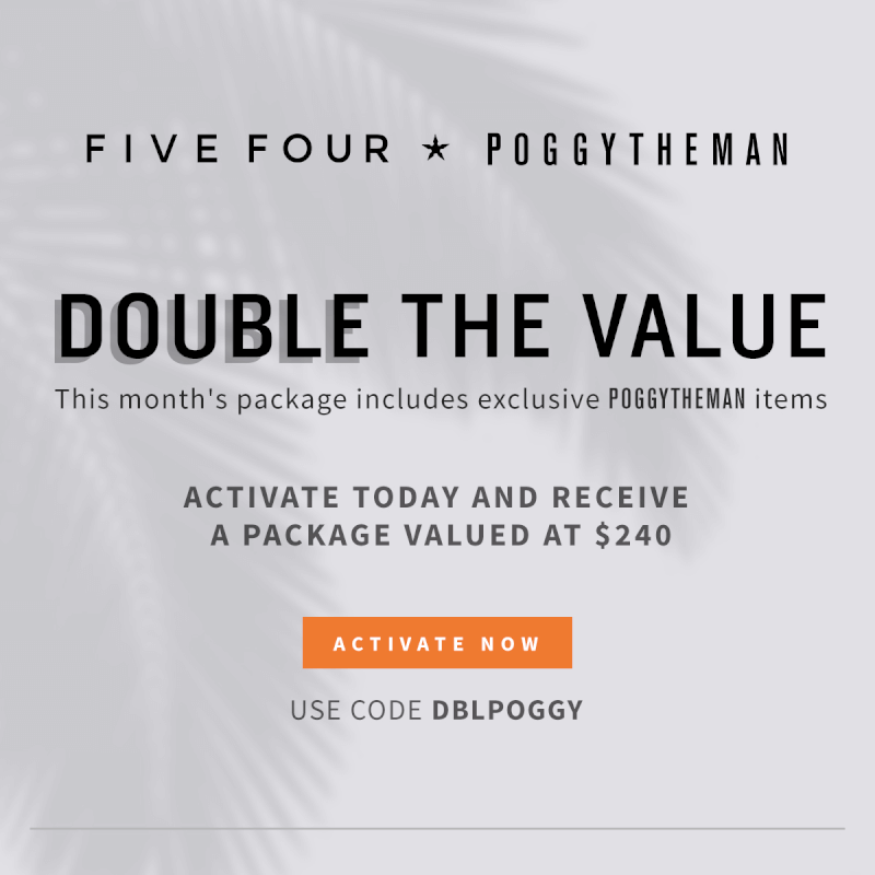 Five Four Club Coupon Code – Double Clothes in Your First Box