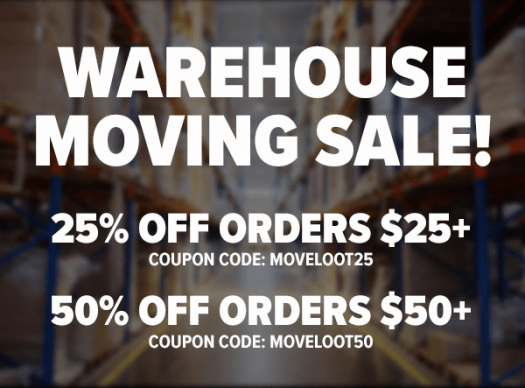 LootVault Moving Sale – Save Up to 50% Off!