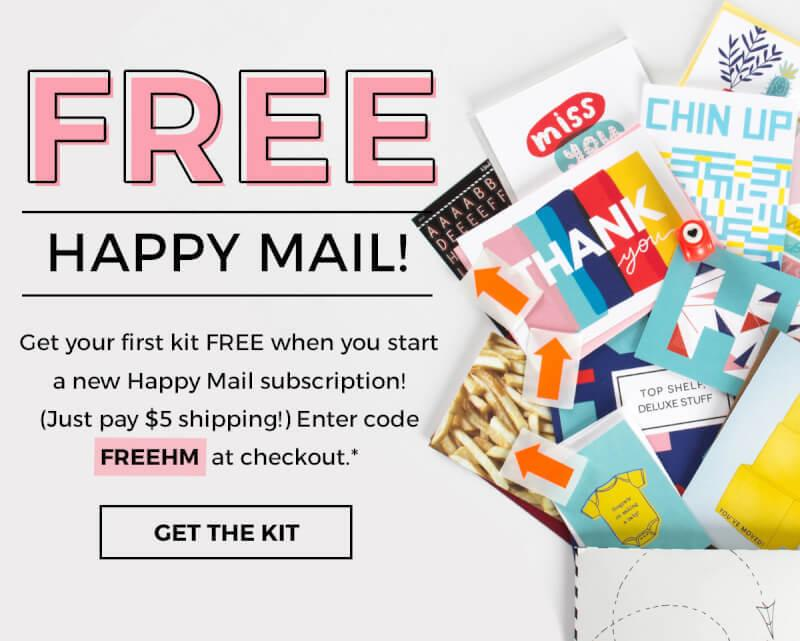 Happy Mail Free Trial Offer!