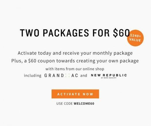Five Four Club Coupon Code – Two Packages for $60!